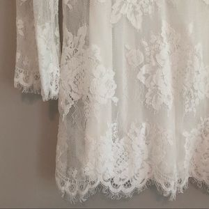 Urban Outfitters Dresses - sale! NWT Urban Outfitters Lace Bell Sleeve Dress